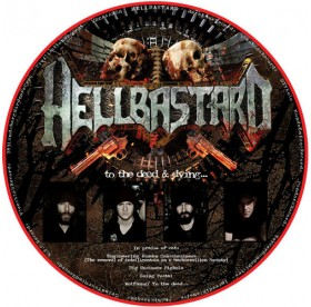 Hellbastard / Herida Profunda - Split PICTURE DISC