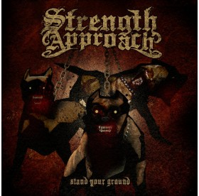 Strength Approach - Stand Your Ground RED / BLACK SWIRLS VINYL