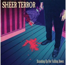 Sheer Terror - Standing Up For Falling Down LP
