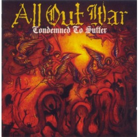 All Out War - Condemned to Suffer CD