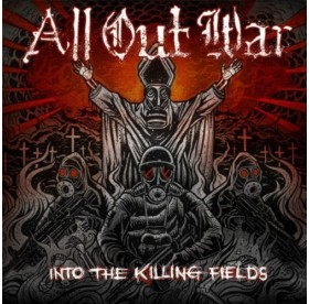 All Out War - Into The Killing Fields CD