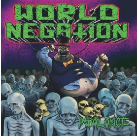 World Negation - Imbalance LP PURPLE VINYL