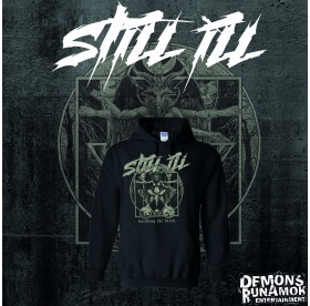 Still Ill - Building The Beast Design HOODIE SIZE S