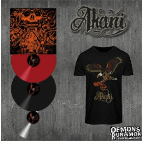 Akani - Through My Darkest Infernal LP Bundle