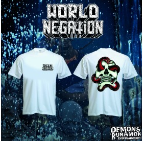 World Negation - Skull & Snake T-SHIRT