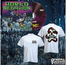 World Negation - Skull & Snake CD Bundle