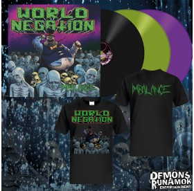 World Negation - Imbalance LP Bundle
