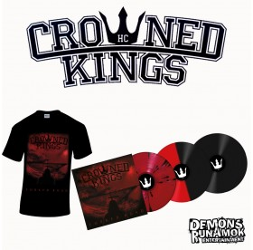 Crowned Kings - Forked Road LP + T-Shirt Bundle