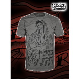 God Free Youth - Mary T-SHIRT SIZE S-XXL