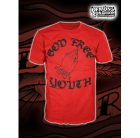 God Free Youth - Mens Hand T-SHIRT SIZE S-XXL