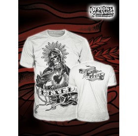 God Free Youth - New Skull Mary T-SHIRT WHITE SIZE S-XXL