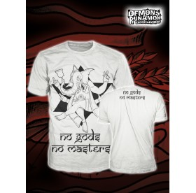 God Free Youth - No Gods No Masters T-SHIRT SIZE S-XL