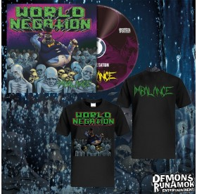 World Negation - Imbalance CD + T-SHIRT Bundle 4