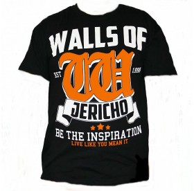 Walls Of Jericho - Inspiration Orange T-SHIRT