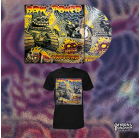 Raw Power - Inferno CD + T-SHIRT PACKAGE