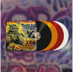 Raw Power - Inferno LP PACKAGE