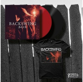 Backswing - SOS LP + TSHIRT PACKAGE