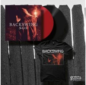 Backswing - SOS LP + TSHIRT PACKAGE