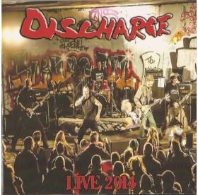 Discharge - Live 2014 CD