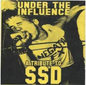 "V.A. - Under The Influence A Tribute To SSD 7"" YELLOW COVER"