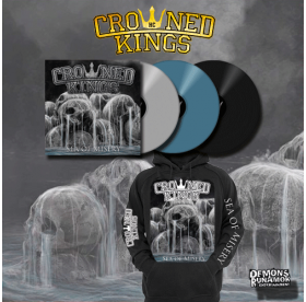 Crowned Kings - Sea Of Misery LP + HOODIE PACKAGE