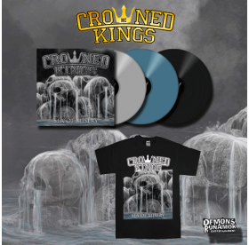 Crowned Kings - Sea Of Misery LP + T-SHIRT PACKAGE