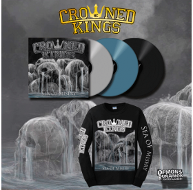 Crowned Kings - Sea Of Misery LP + LONGSLEEVE PACKAGE