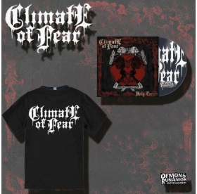 Climate Of Fear - Holy Terror MCD + T-SHIRT PACKAGE