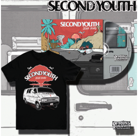Second Youth - Dear Road CD + T-SHIRT PACKAGE