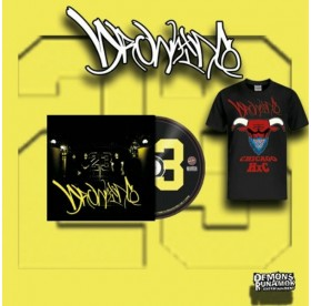 Drowning - 23 CD + Chicago HxC T-SHIRT BUNDLE
