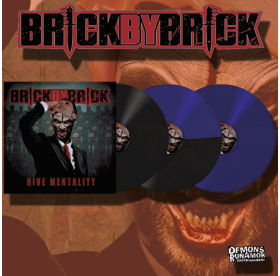 Brick By Brick - Hive Mentality LP