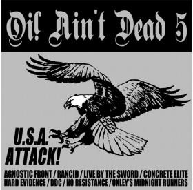 V.A. - Oi! Ain't Dead Vol. 5 U.S.A. Attack CD