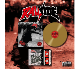 Rawside - Police Terror LP+DEMO UNITE AND FIGHT TAPE 25th Anniversary Edition