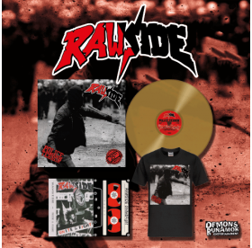 Rawside - Police Terror LP + T-SHIRT + DEMOTAPE