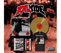 Rawside - Police Terror LP + T-SHIRT + UNITE AND FIGHT TAPE 25th Anniversary Edition