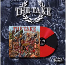 The Take - Same LP RED/BLACK VINYL