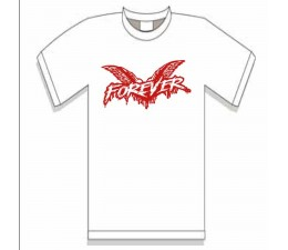 Cock Sparrer - Forever T-SHIRT WHITE