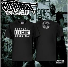Cutthroat - L.A. Don't Play T-Shirt