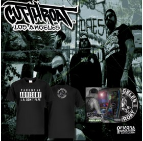 Cutthroat - L.A. Don't Play T-Shirt + CD