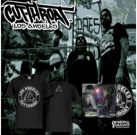 Cutthroat LA - Circle 2 T-Shirt + CD