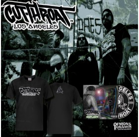 Cutthroat LA - Los Angeles T-Shirt + CD