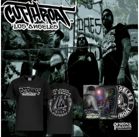 Cutthroat LA - Trouble T-Shirt + CD