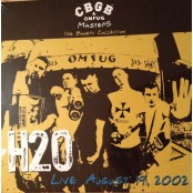 H2O - Live August 19, 2002 The Bowery Collection LP