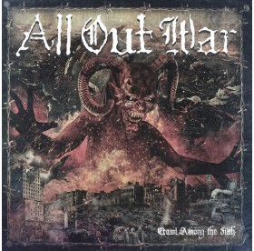 All Out War - Crawl Among The Filth CD