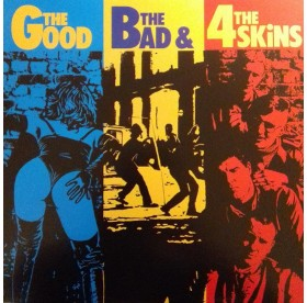4 Skins - The Good, The Bad & The 4 Skins LP