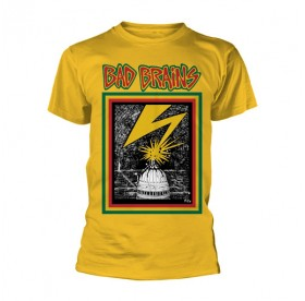 Bad Brains - Capitol T-SHIRT YELLOW