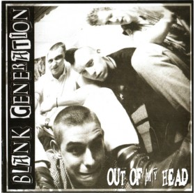 Blank Generation - Out Of My Head CD