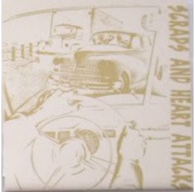 """Scraps And Heart Attacks - Same 7"""" GOLD COVER /038"""