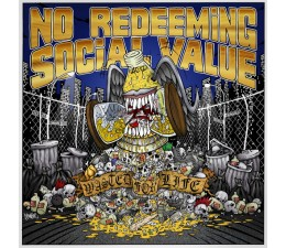 No Redeeming Social Value - Wasted For Life LP