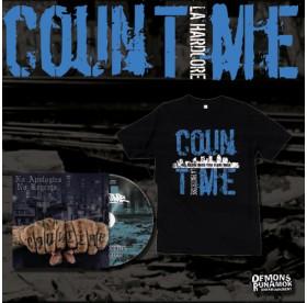 Countime - No Apologies, No Regrets CD + T-SHIRT Bundle